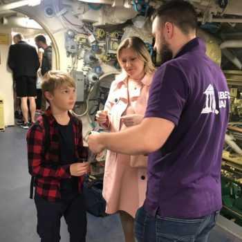 квест на подводной лодке