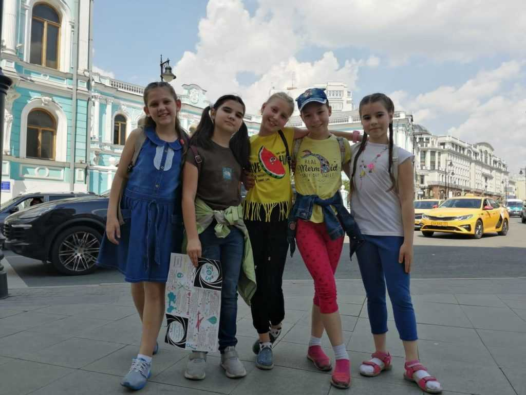 пешеходный квест по улицам Москвы