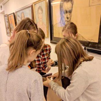 Квест в галерее Ильи Глазунова для детей