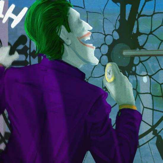 Выездной квест для взрослых Джокер