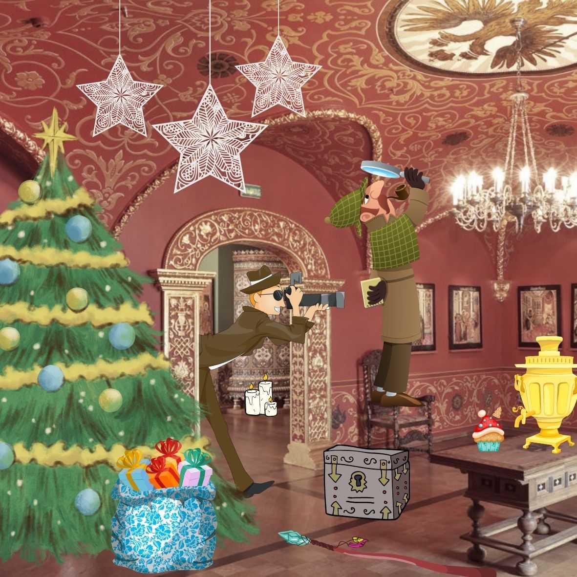 Новогодняя ёлка для детей в музее Сословий (сборная)